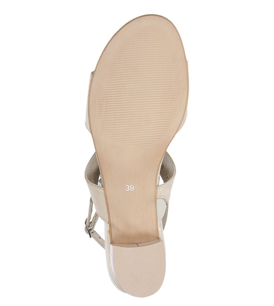 Sandały Casu 3447 wysokosc_platformy 1 cm