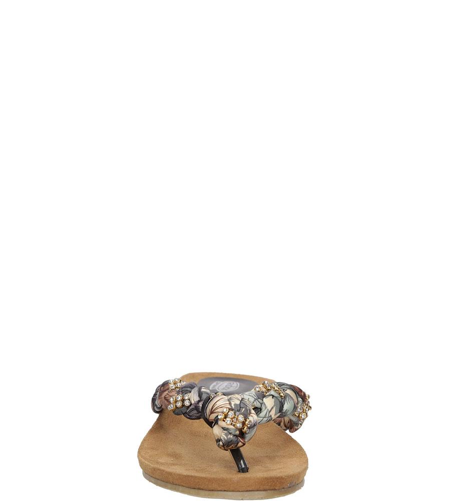 Damskie JAPONKI ROCK SPRING HERBA brązowy;beżowy;multikolor