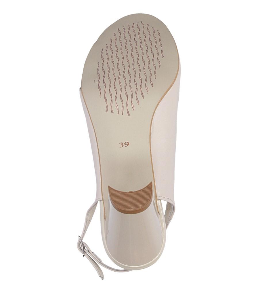 Sandały na słupku Casu 3937 wysokosc_platformy 1 cm