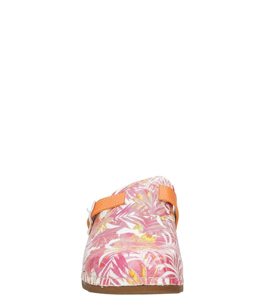 KLAPKI INBLU UA000014 kolor pomarańczowy, różowy