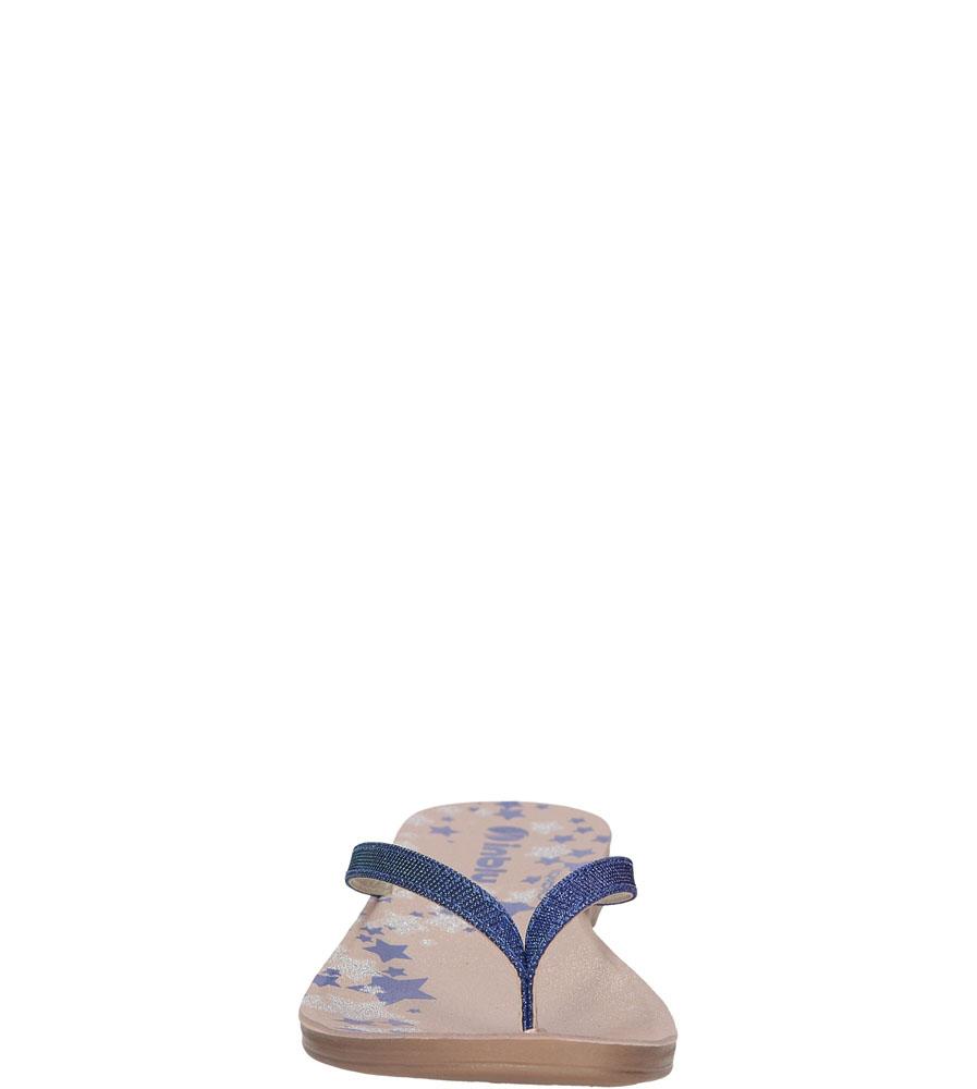 Damskie JAPONKI INBLU IR000050 niebieski;;