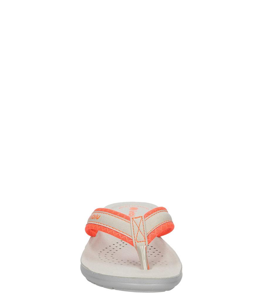 Damskie JAPONKI INBLU SL000025 pomarańczowy;szary;