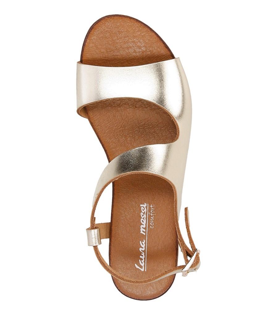Sandały skórzane Casu 1116 wysokosc_platformy 1 cm