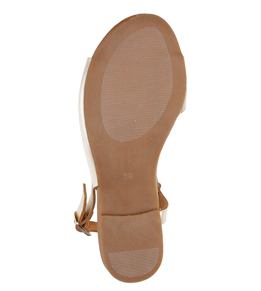 Sandały skórzane Casu 1116 wys_calkowita_buta 8 cm