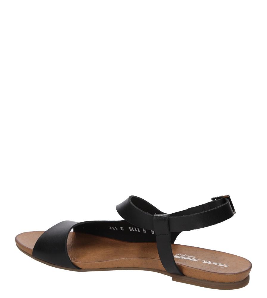 Sandały skórzane Casu 1116 wysokosc_obcasa 1 cm
