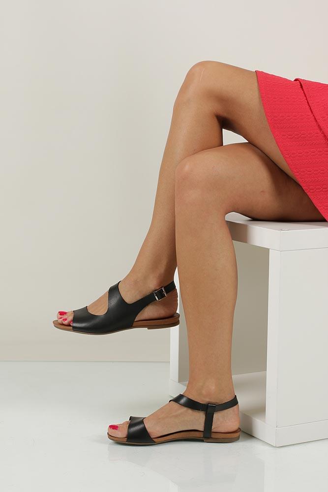 Sandały skórzane Casu 1116 wierzch skóra naturalna - licowa