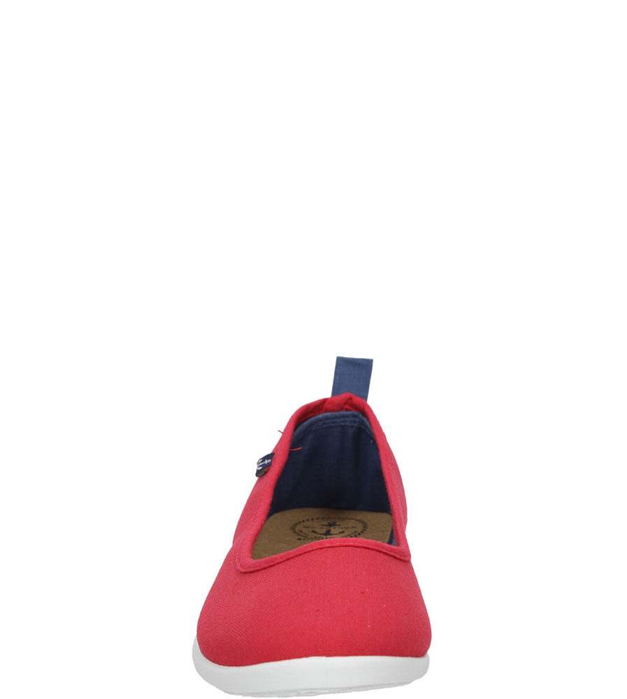 BALERINY CASU S16-F-LT-04 kolor czerwony