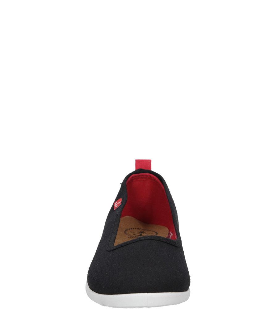 BALERINY CASU S16-F-LT-04 kolor czarny