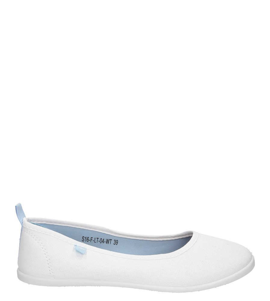 Damskie BALERINY CASU S16-F-LT-04 biały;;