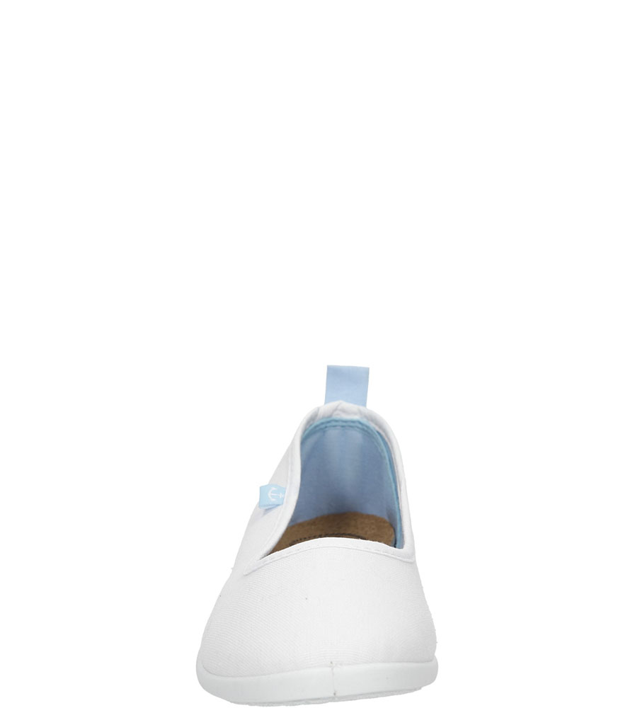 BALERINY CASU S16-F-LT-04 kolor biały