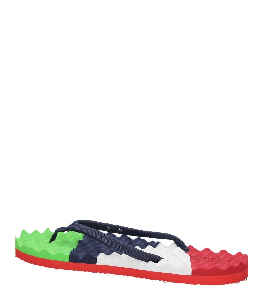 Damskie JAPONKI BIG STAR U274969 niebieski;czerwony;zielony