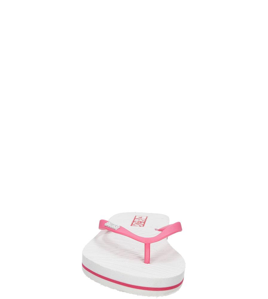 Damskie JAPONKI BIG STAR U27498 biały;różowy;