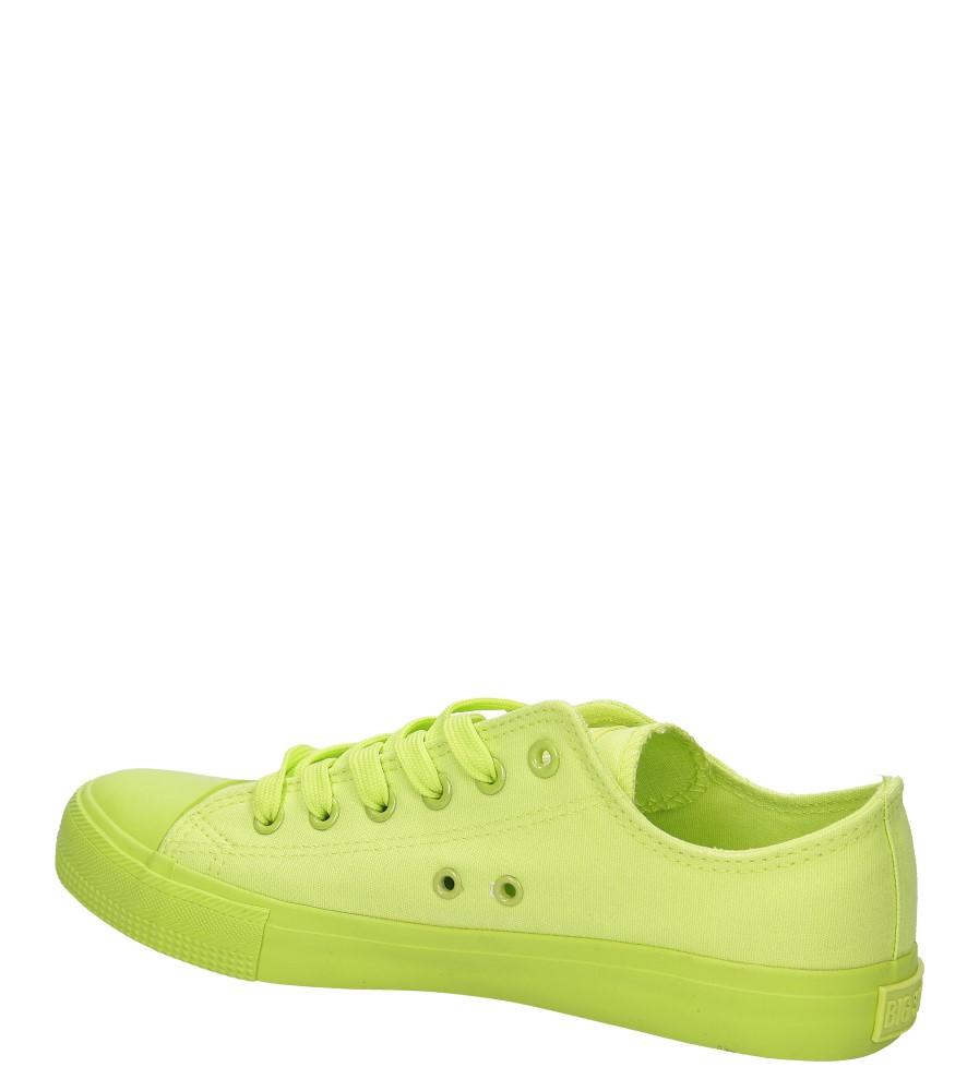 Damskie TRAMPKI BIG STAR V27495 zielony;;