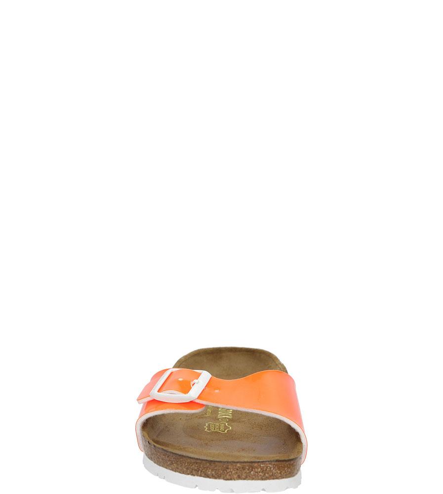 Damskie KLAPKI BIRKENSTOCK 0439803 pomarańczowy;;