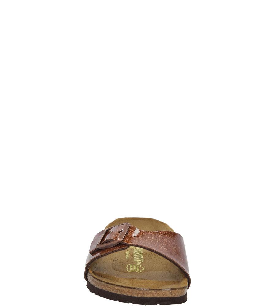 Damskie KLAPKI BIRKENSTOCK 0438023 brązowy;;