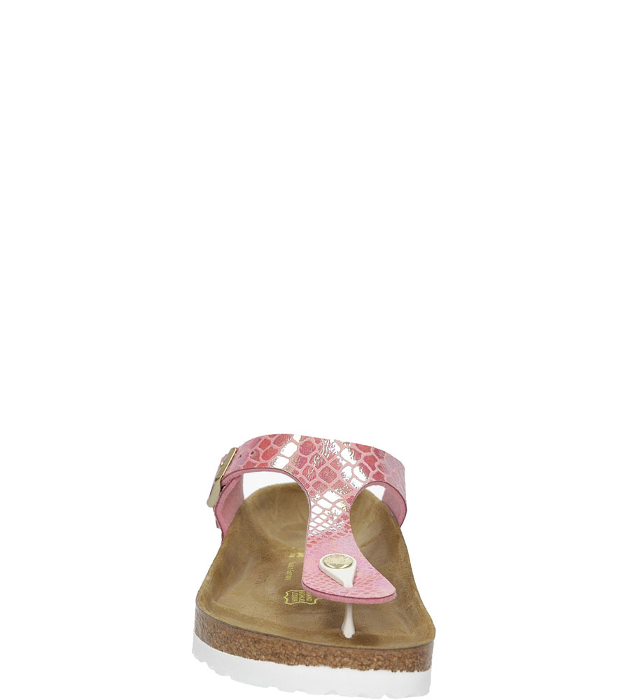 JAPONKI BIRKENSTOCK 0847421 kolor różowy