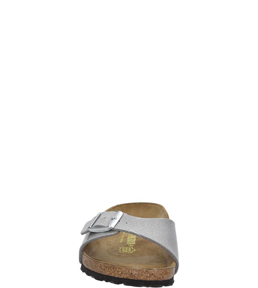 Damskie KLAPKI BIRKENSTOCK 0438083 srebrny;;