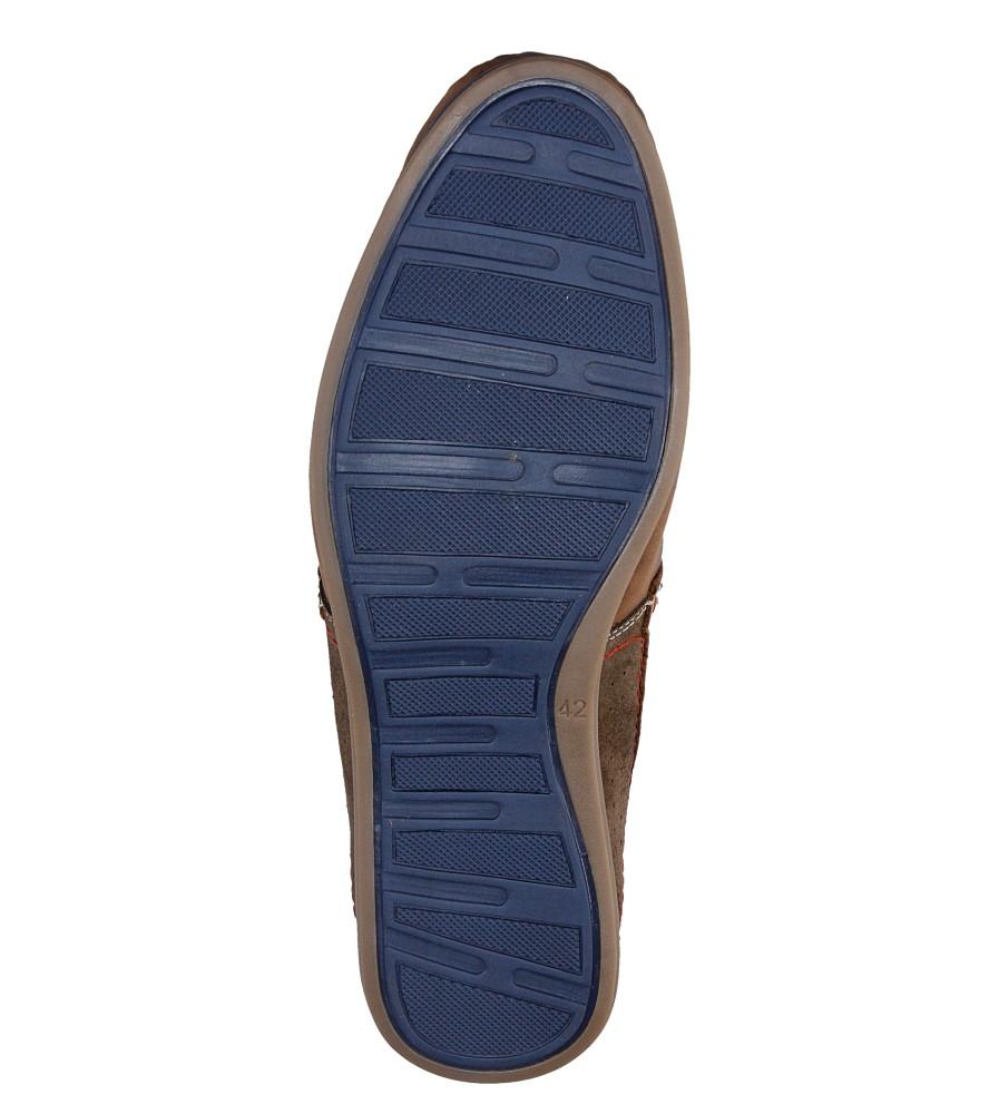 Męskie PÓŁBUTY WINDSSOR 846 brązowy;niebieski;