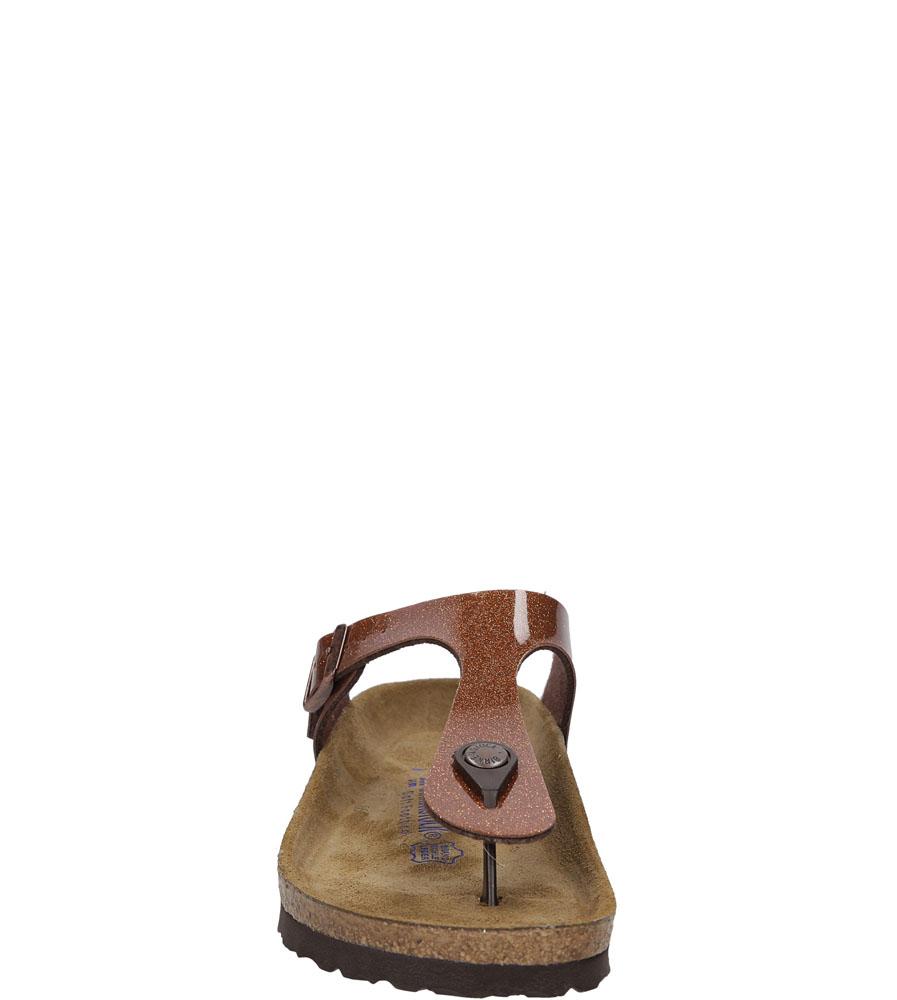 Damskie JAPONKI BIRKENSTOCK 847451 brązowy;;