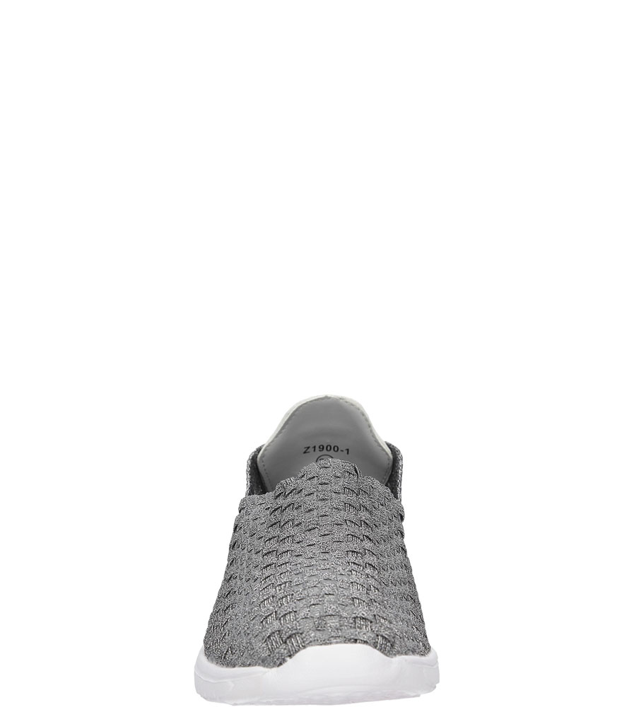 Damskie SPORTOWE CASU 21900-1 szary;srebrny;