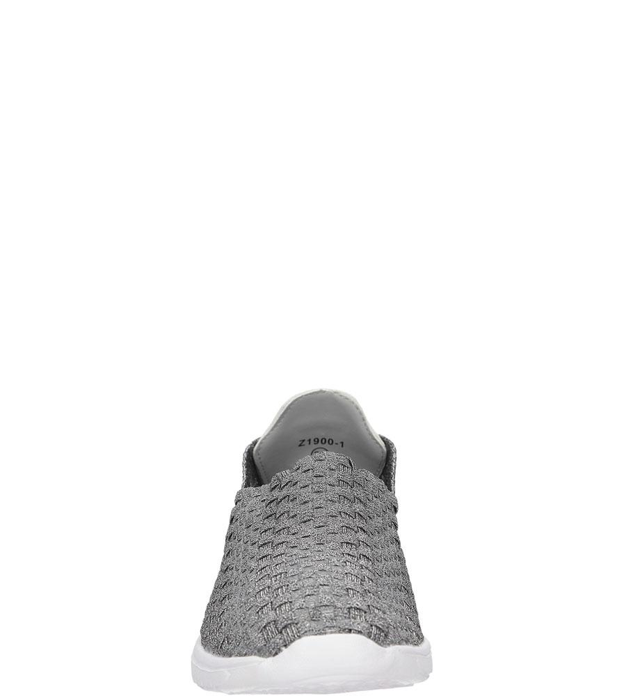 SPORTOWE CASU 21900-1 kolor ciemny szary, srebrny