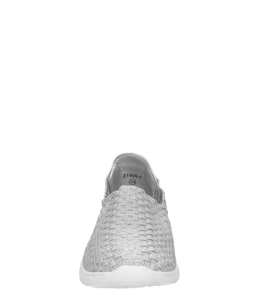 SPORTOWE CASU 21900-1 kolor srebrny