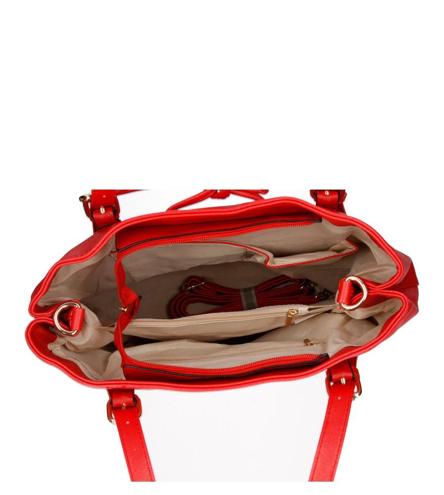 Damskie TOREBKA A-638 czerwony;;