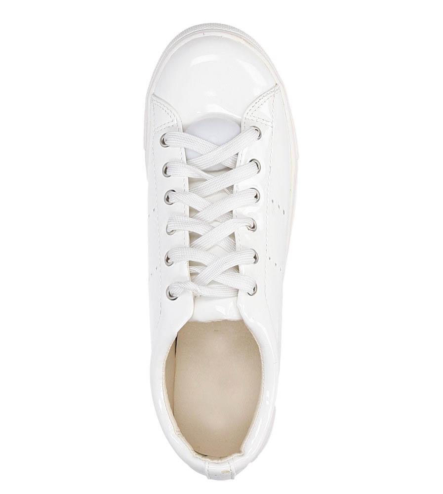 Damskie TRAMPKI CASU 1405-Y biały;;