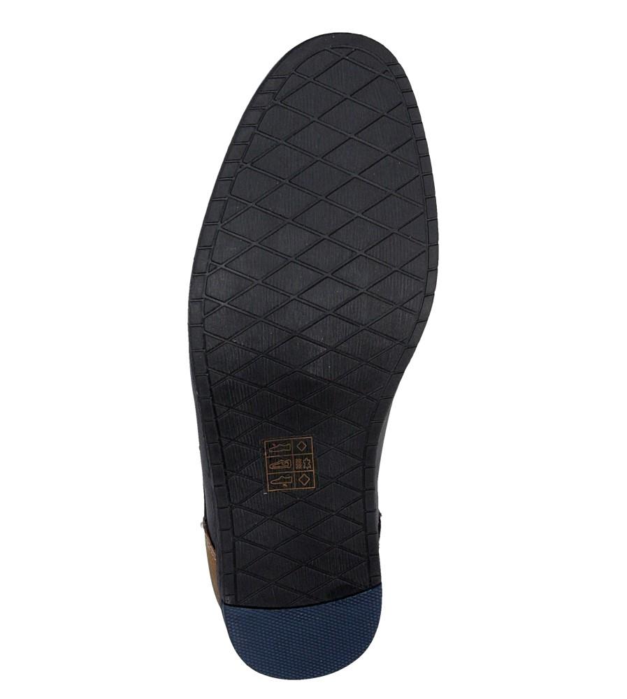Męskie PÓŁBUTY LXC324 czarny;niebieski;
