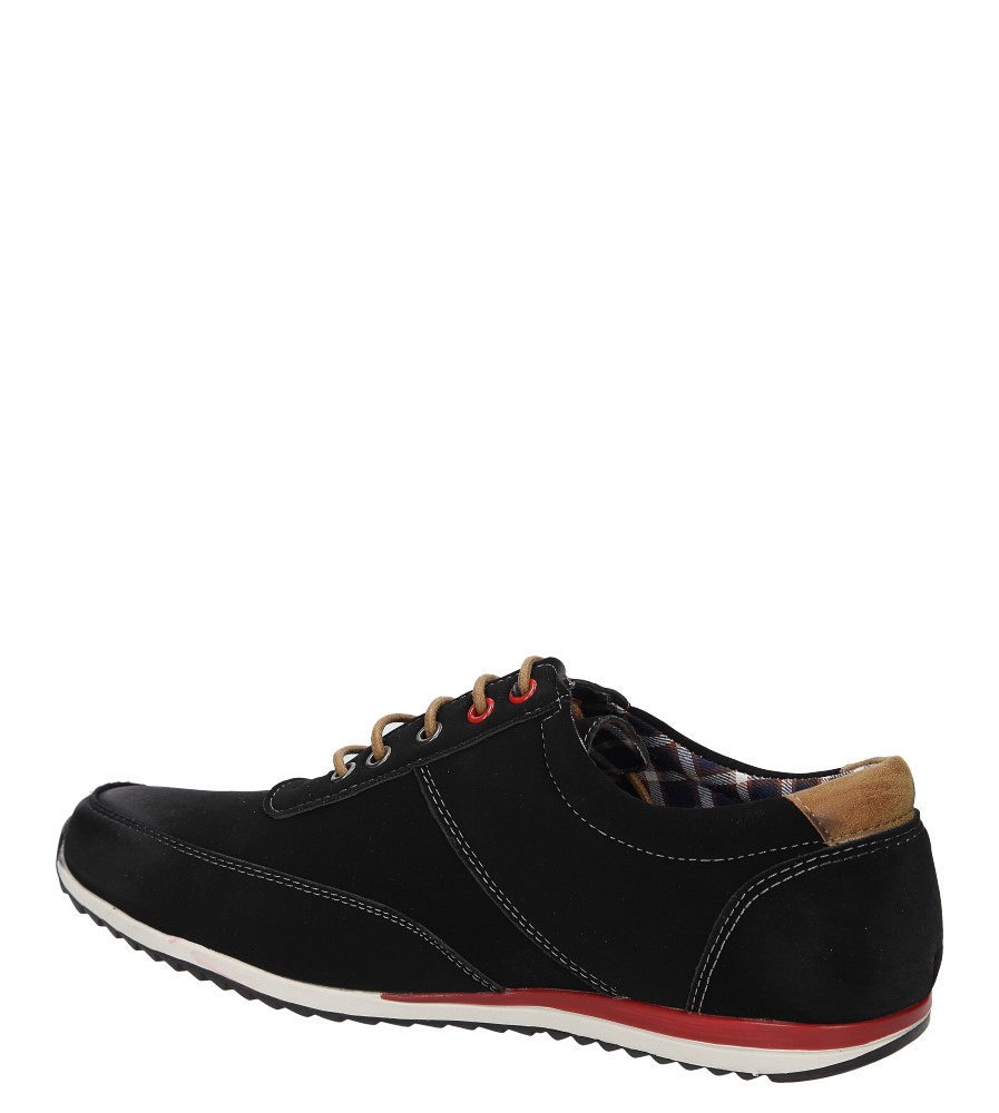 PÓŁBUTY CASU MXC320 kolor czarny, czerwony