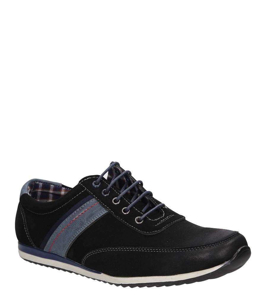 Męskie PÓŁBUTY CASU MXC320 czarny;niebieski;