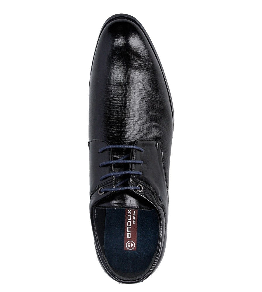 Męskie WIZYTOWE CASU MXC329 czarny;niebieski;