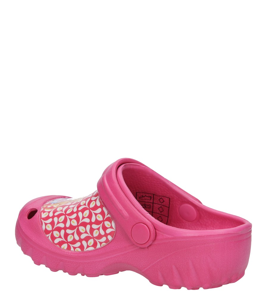 KLAPKI KONDOR NCRFR001 kolor różowy