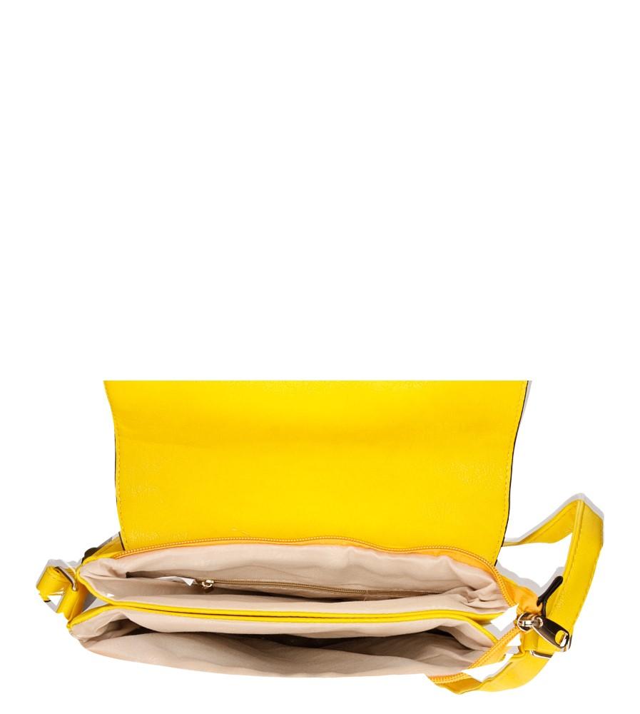 TOREBKA LISTONOSZKA KJ479 kolor żółty