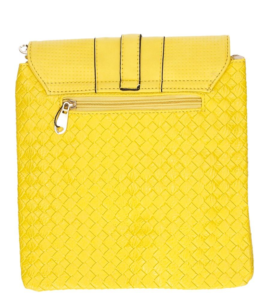 Damskie TOREBKA LISTONOSZKA C251 żółty;;