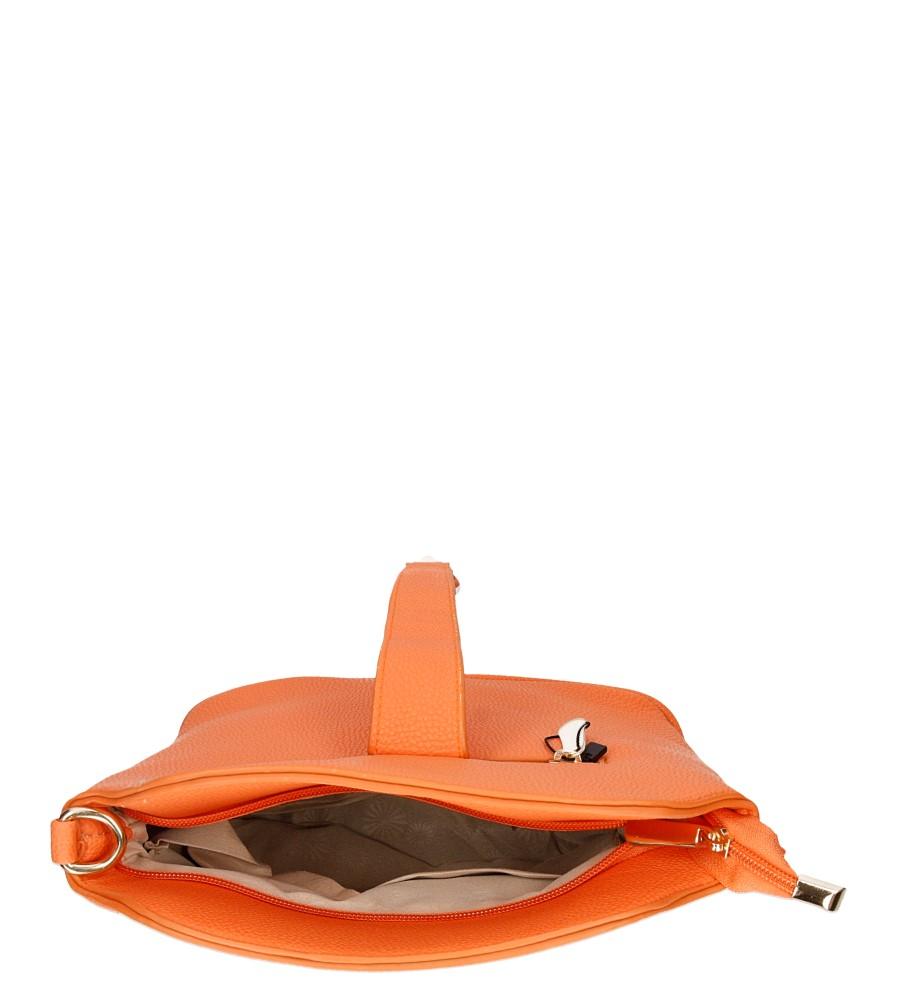 Damskie TOREBKA C2121 pomarańczowy;;