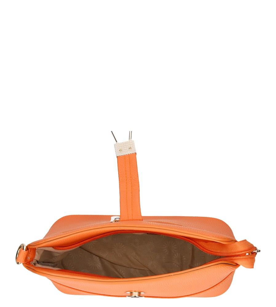 Damskie TOREBKA C2122 pomarańczowy;;