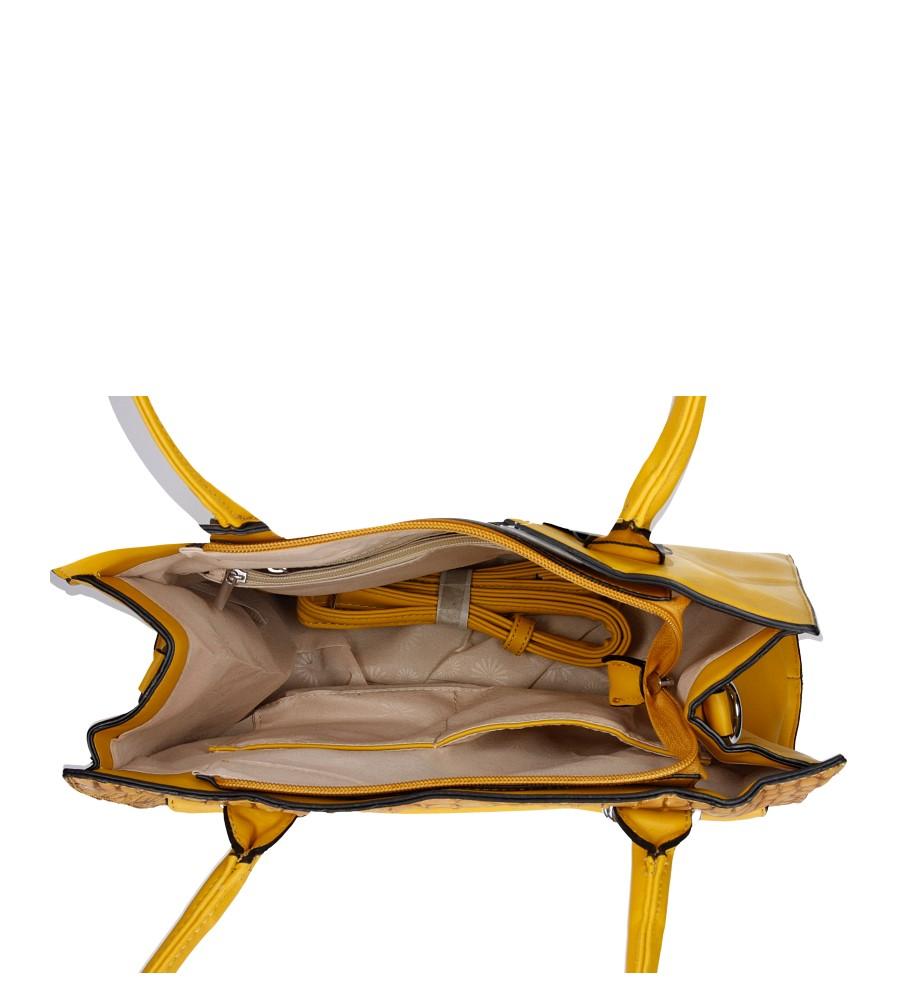 Damskie TOREBKA CE015-2 żółty;;