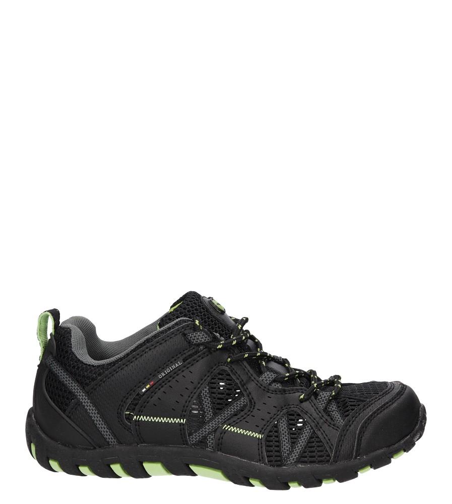 Męskie PÓŁBUTY CASU 9A-HG84570 czarny;zielony;