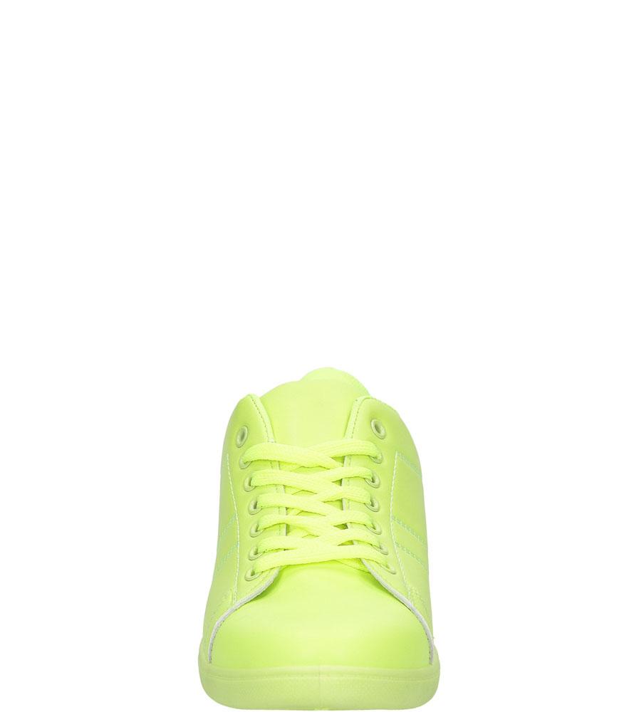 Damskie TRAMPKI CASU 7AX-AJ85950M zielony;;
