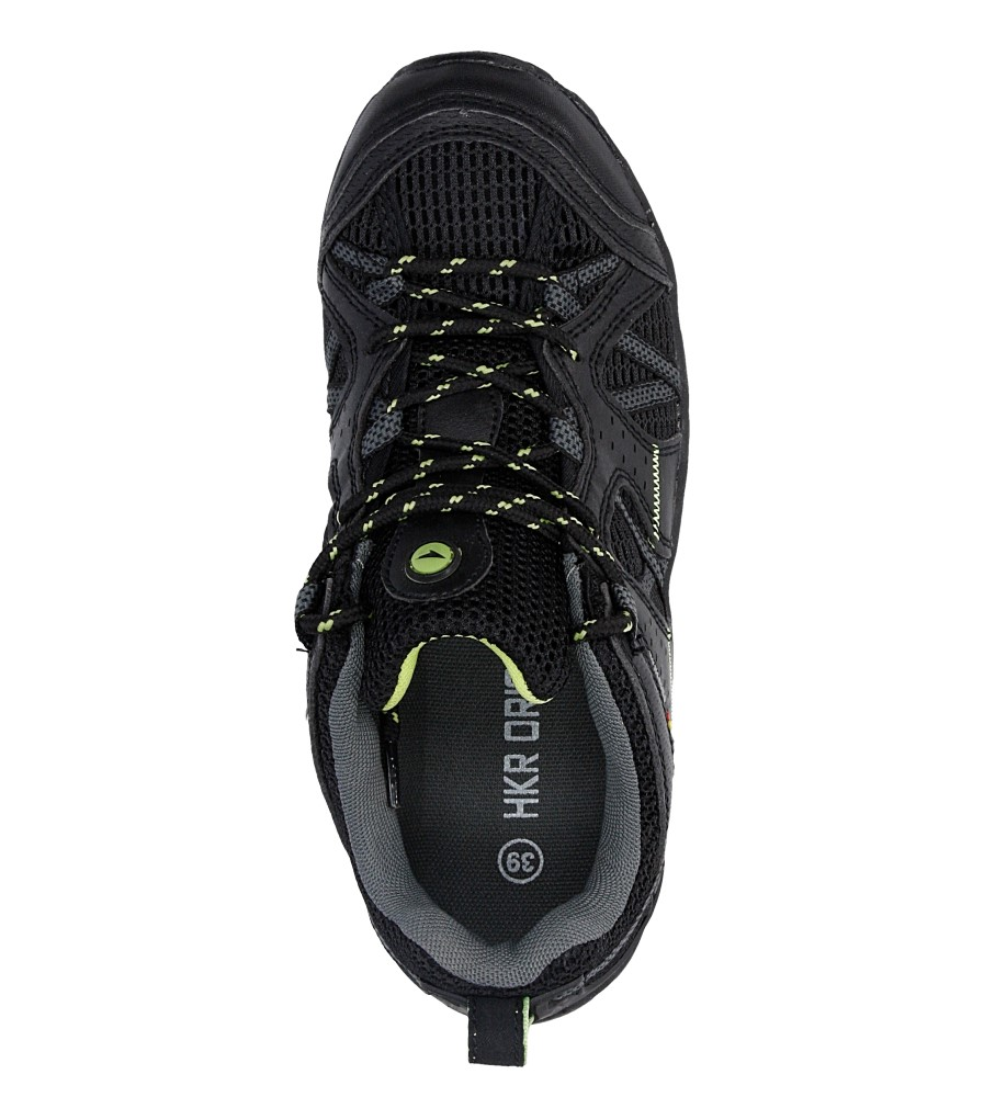 Męskie PÓŁBUTY CASU 7A-HG84570 czarny;zielony;