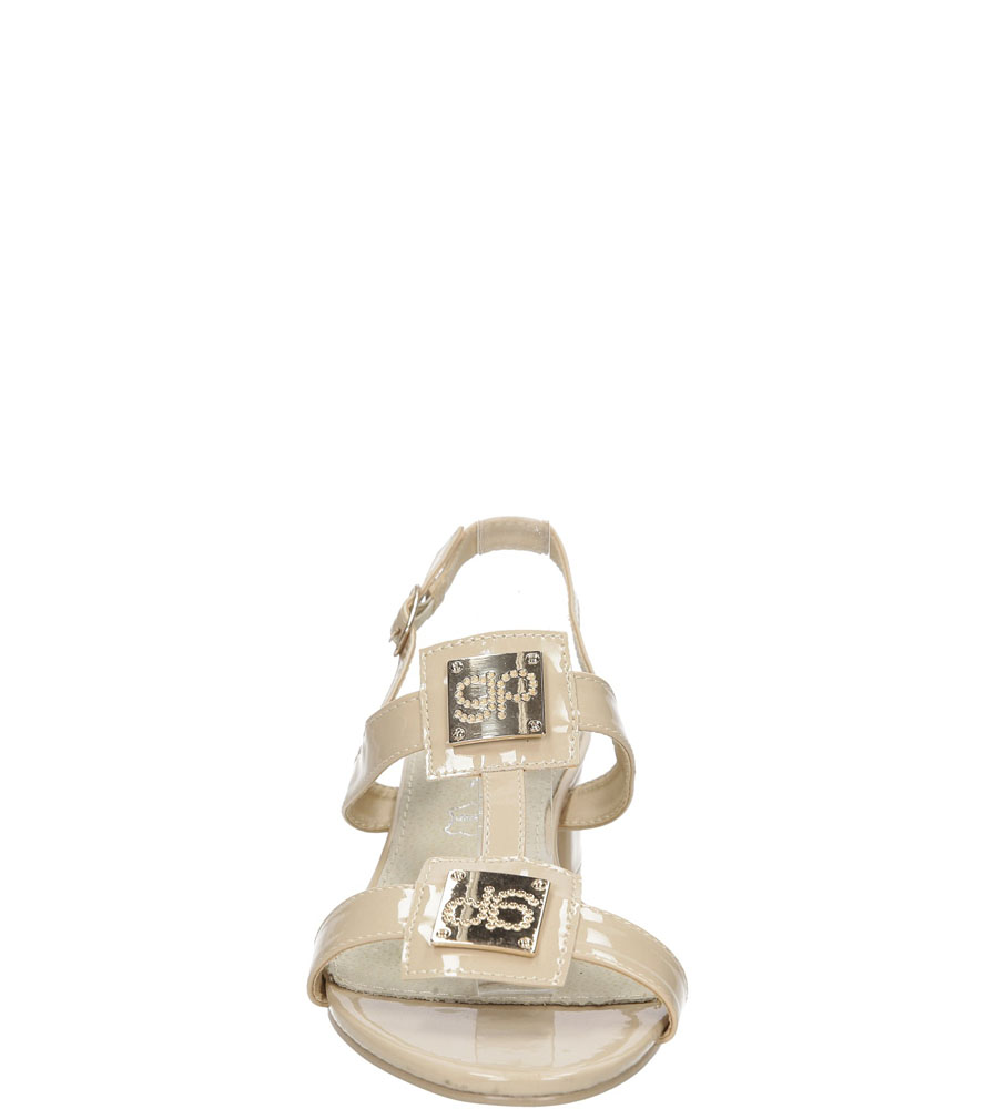 Damskie SANDALY CASU 7S-GH85449 beżowy;;
