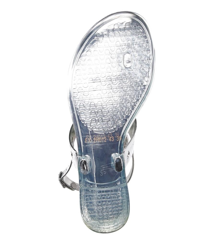 Damskie MELISKI CASU FX2H012-43 srebrny;;