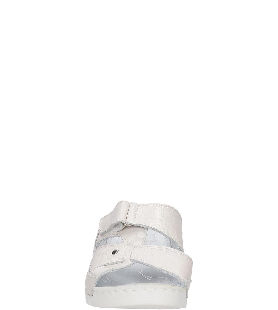 Damskie KLAPKI ŁUKBUT 0555-3-L-007 beżowy;;