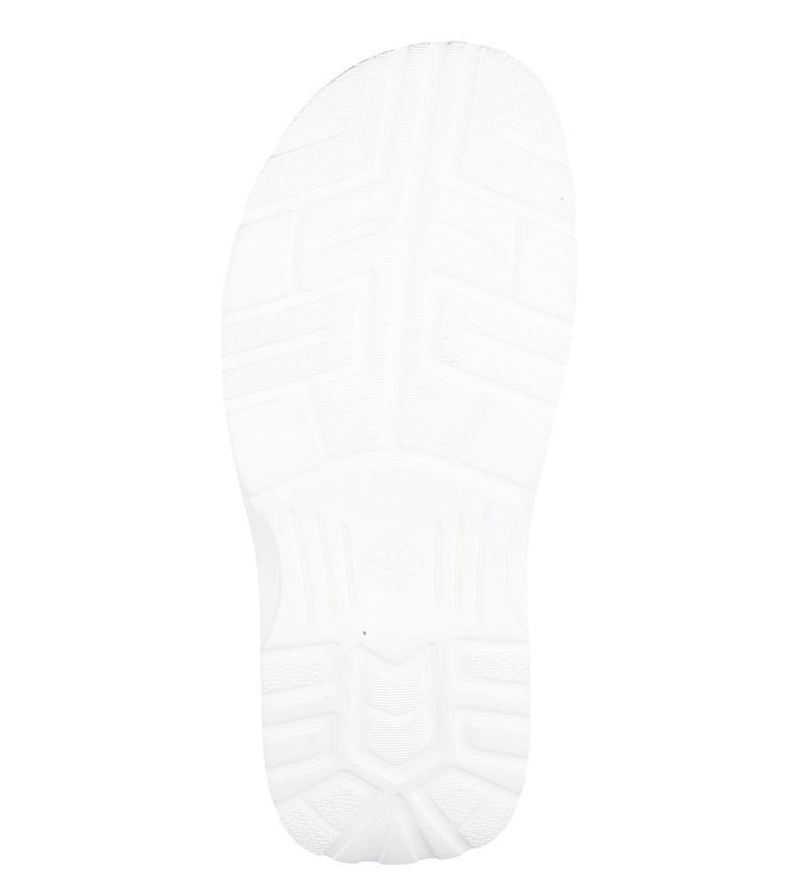 Męskie KLAPKI ŁUKBUT 09510-4-L-007 biały;;