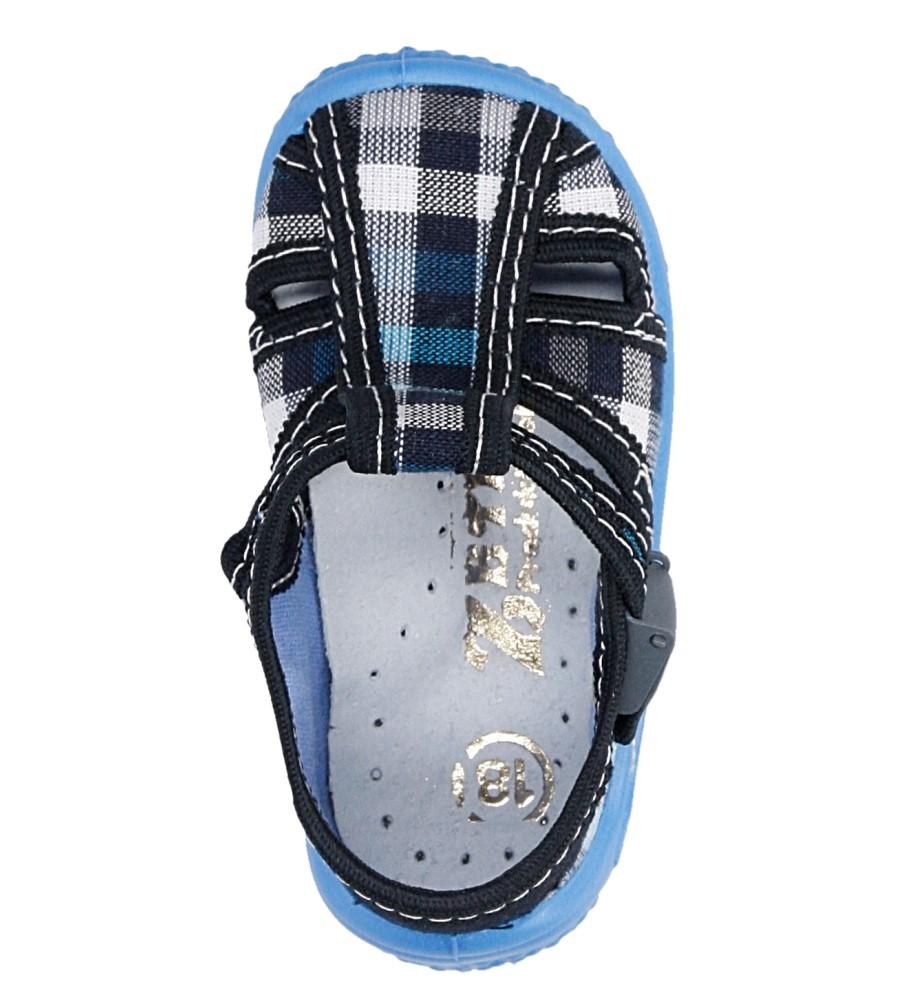 Dziecięce KAPCIE ZETPOL IGOR 2397 czarny;niebieski;