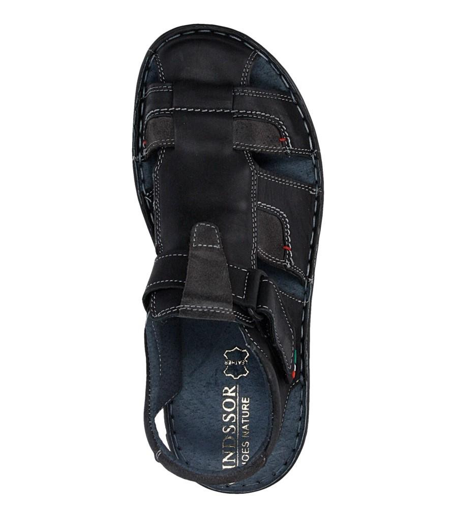 Sandały skórzane Windssor 506 wysokosc_platformy 3 cm