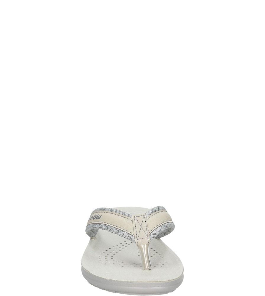 Damskie JAPONKI INBLU SL000025 srebrny;;