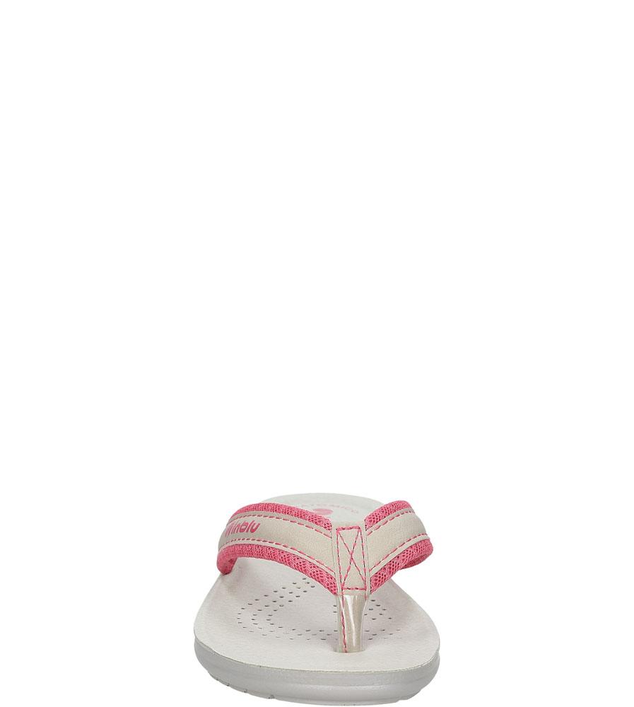 Damskie JAPONKI INBLU SL000025 różowy;szary;