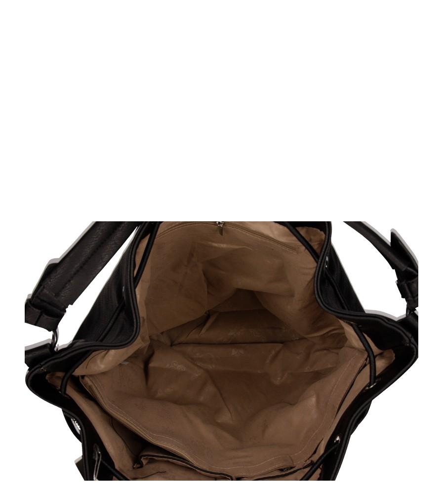 Damskie TOREBKA 6709 czarny;;